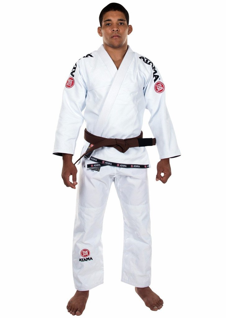 Jujitsu ATAMA MUNDIAL9 KIMONO GI Blue Jiujitsu GI Jiu-jitsu Uniform BJJ Genuine