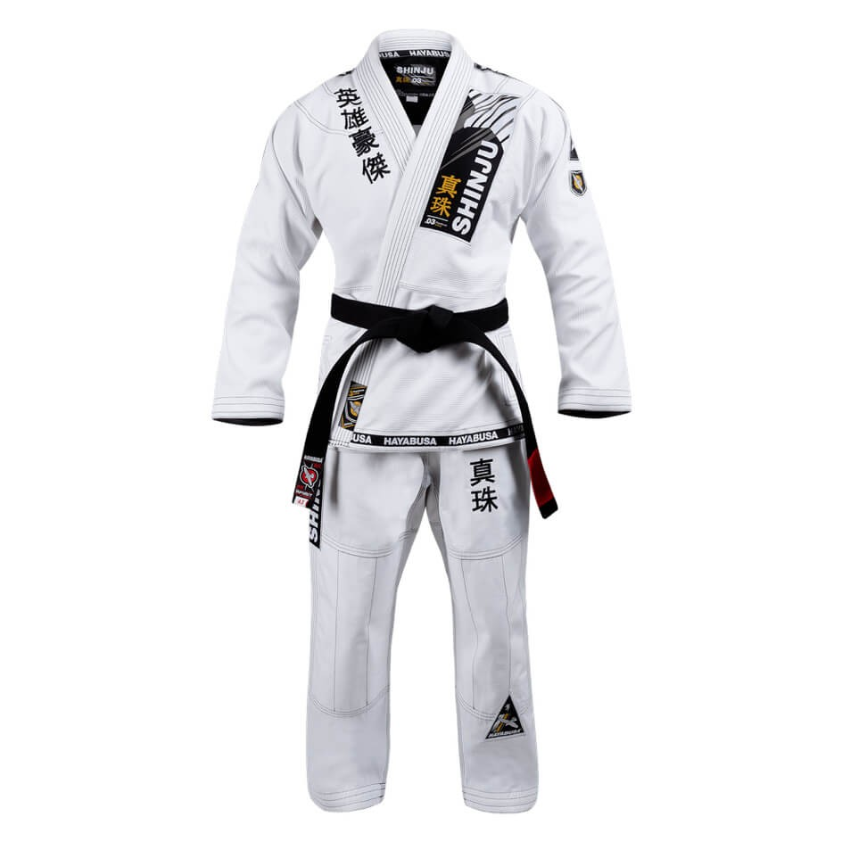 Woldorf USA BJJ Pearl Weave Jiu jitsu uniform gi competition white color